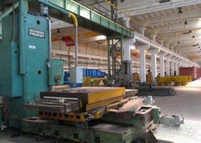 #03098 – Schiess Froriep 130 CNC Type 70H/BFT15NC Plataforma Siemens Sinumeric 840