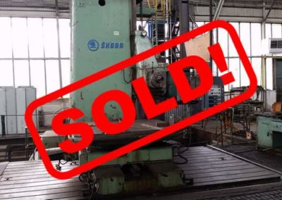 #03412 – Horizontal Boring Machine Skoda W160 – s o l d – to South Korea