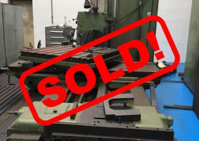 #04677 – Horizontal Boring Machine TOS VARNSDORF W100A – ISO 50
