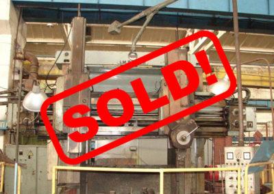 #4681-vertical turret lathe TITAN SC22 – sold to South Korea