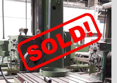 #04693 – Horizontal Boring Machine TOS VARNSDORF W100A – ISO 50