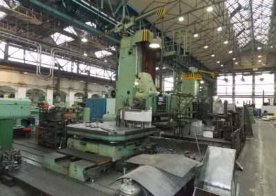 #04687-Horizontal boring machine SKODA WD160 – n e w : drives, incl. spindle drive, DRO