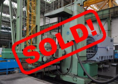 #04586-Horizontal boring machine SKODA WD160 – s o l d – to India