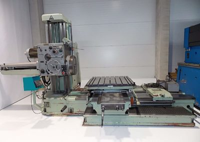 #4587 – Horizontal Boring Machine TOS VARNSDORF W100A – ISO 50
