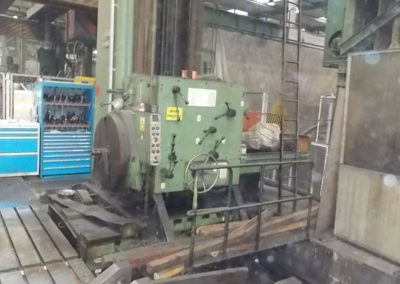 #4684-Horizontal boring machine UNION BFP 160
