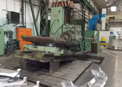 #4685-Horizontal boring machine UNION BFP 125