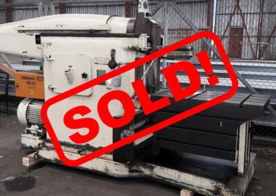 #04697 – Horizontal shaping machine – 1 meter stroke – sold to Guatemala