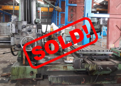 #04698 – Horizontal Boring Machine TOS VARNSDORF W9 – sold – to Mexico