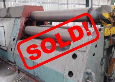 #04708 – Plate rolling machine PIESOK XZCT2000/12 – video ▶️ – sold to Mexico