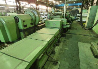 #05245 – rolls grinding machine TOS BEV100/5000 – YOR 1997