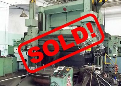 #04974 – vertical lathe TOS SK 25 – sold to Colombia