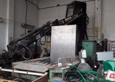 #04801 – Hydraulic compactor ZDAS CPA 100 – video ▶️