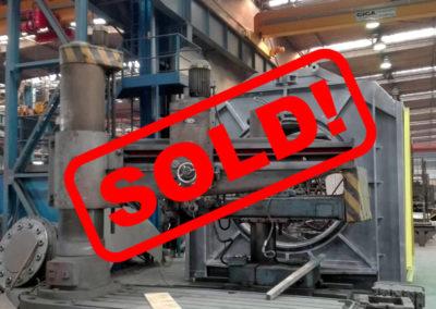 #04815 Drilling machine Czepel RFH 100/3000 – video ▶️ – arm 3000 mm