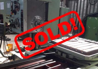#04874 Horizontal Boring Machine TOS VARNSDORF W75 – sold to Mexico