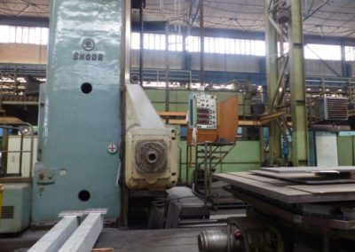 #04920 Horizontal boring machine SKODA WD200B/4000