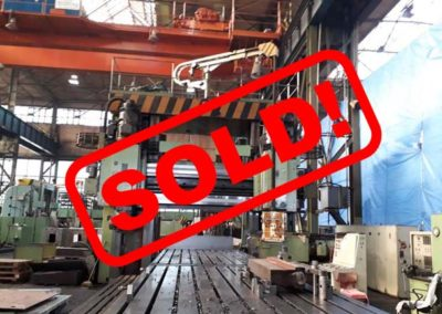#04921 Portal milling machine TOS FRVD 2000×9000