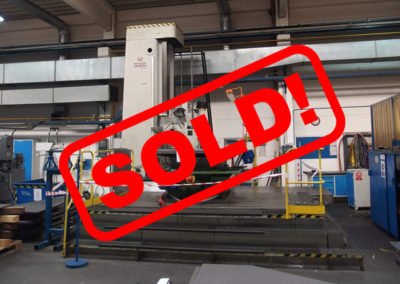 #04941 Horizontal boring machine UNION BFP 125/III – video available ▶️ – sold to India