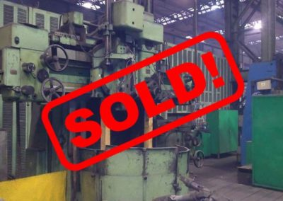 #04960 – vertical lathe TOS SK 12 – sold to India