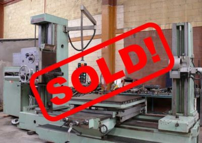 #04992 Horizontal Boring Machine TOS VARNSDORF W9A – sold to Mexico