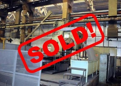 #04963 Horizontal boring machine UNION BFP 130/6 – video available ▶️ – sold to India