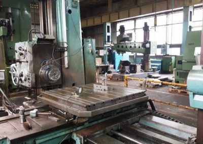 #04983 Horizontal Boring Machine TOS VARNSDORF W100A – ISO 50 – video available ▶️