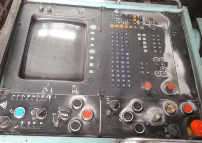#04989 – Horizontal Boring Machine TOS WHN 13.8 CNC – 1992 – Heidenhain – dismountled  – video available ▶️