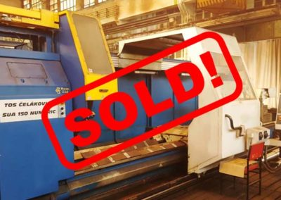 #04999 Lathe heavy TOS SUA100/5000 CNC Numeric – yop 2006