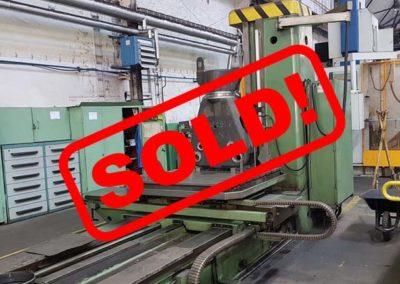 #05011 Horizontal Boring Machine TOS VARNSDORF W100A – ISO 50