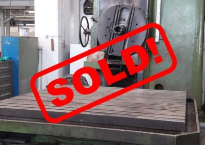 #05012 Horizontal Boring Machine TOS VARNSDORF W100A – ISO 50  – video available ▶️ – sold to Chile