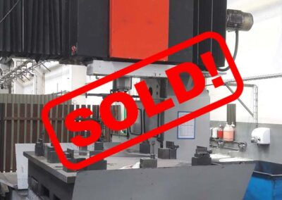 #05024 Vertical machining centre MAS MCWV100  – video available ▶️ – sold to India