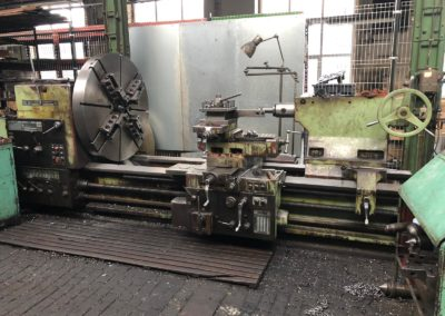 #05032 Lathe TOS SU125/2000 – video available ▶️