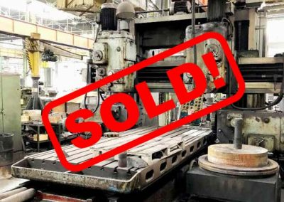 #05044 Portal milling machine TOS FP20 – sold to India