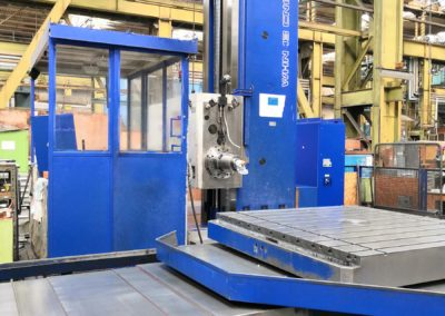 #05053.12 Horizontal Boring Machine TOS WHN 13.4 CNC Heidenhain  – reno 2012 – working hours 7000 only