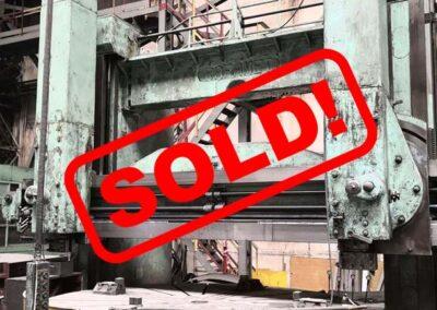 #05062 vertical lathe RAFAMET KCF320 – sold to Chile