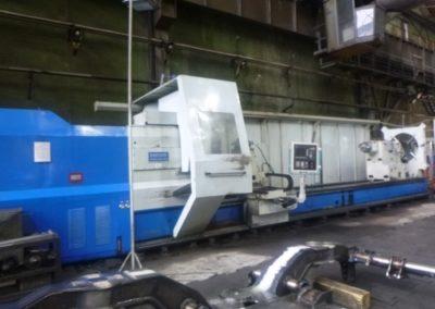 #05063 Horizontal Lathe CK61220CNC – 2200×8000 mm – Siemens 820D
