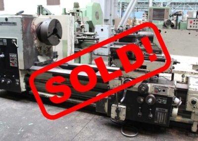 #05105 Lathe TOS SU125/2000 – Sold to Egypt