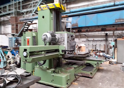 #05114 – Horizontal Boring Machine TOS VARNSDORF W100A – ISO 50 – as new– video available▶️