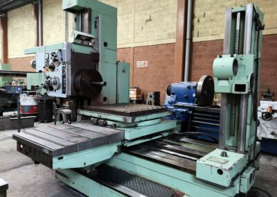 #05096 Horizontal Boring Machine TOS VARNSDORF W75 – incl. accessories and DRO