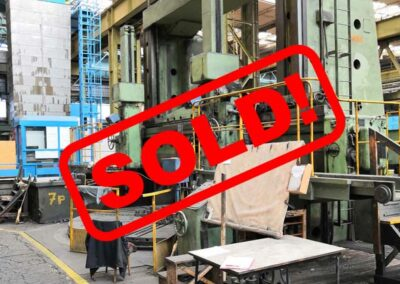 #05053.26 vertical lathe SK 50  – video available ▶️ – sold to India