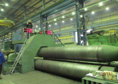 #05120 Plate bending rolls UBBDA60x4500