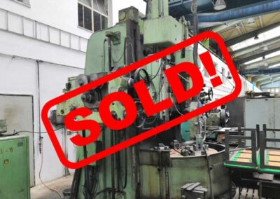 #05128 vertical lathe TOS SK 12 – sold to India