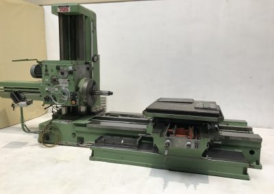 #05530 Horizontal Boring Machine TOS VARNSDORF W100A – ISO 50 – incl. tailstock and faceplate