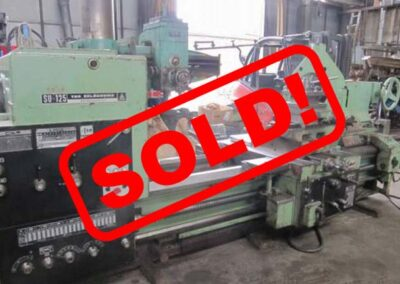 #04561 Lathe TOS SU125/2000 – video available ▶️ – Sold to India