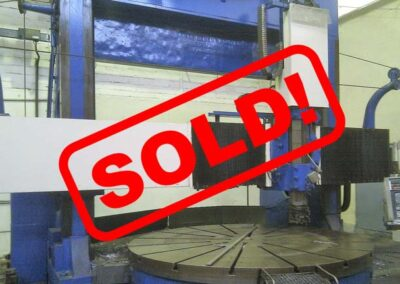 #05171 vertical lathe CNC NILES 3000 – sold to South Korea
