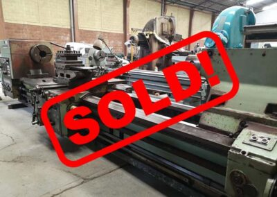 #05136 Lathe TOS SU100/4000 – sold to Mexico