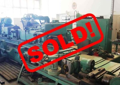 #05167 TOS Universal Cylindrical Grinder BUT63/3000 – video available ▶️ – sold to India