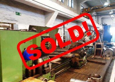 #05199 Lathe Potisje 125/6000 – sold to Poland