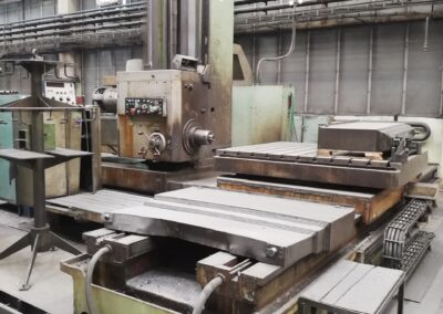 #05209 Horizontal Boring Machine TOS WHN13.8A TESLA NS 361 – yop1984 – video available ▶️