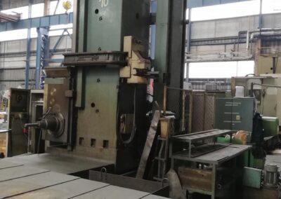 #05210 Horizontal Boring Machine TOS WHQ13.8A TESLA NS 670 – yop 1989
