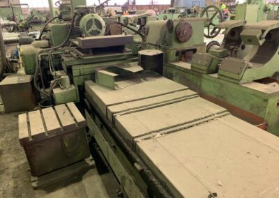 #05254 rolls grinding machine TOS BEV80/5000 – YOR 1996